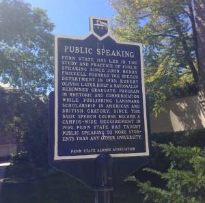 public speaking sign